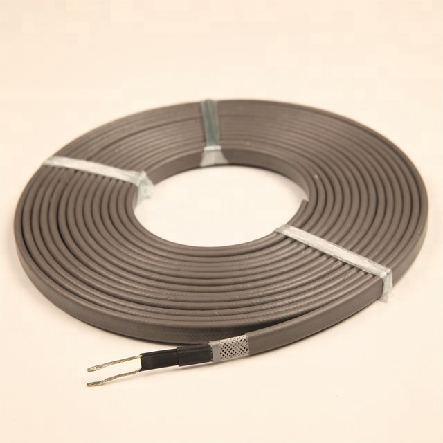 High temperature cables residential self-regulating heating cable