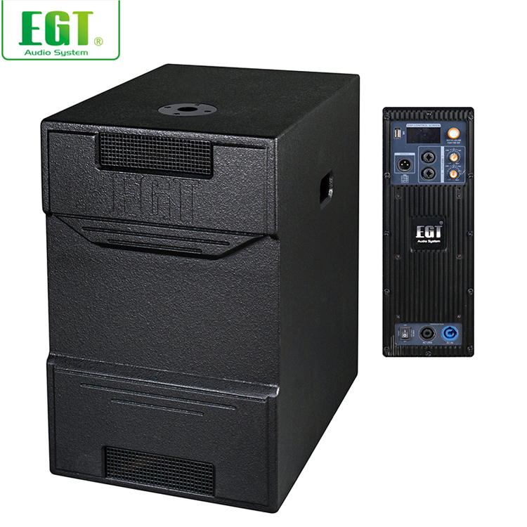New arrival professional full range amplifier DSP amplifier dsp column subwoofer system