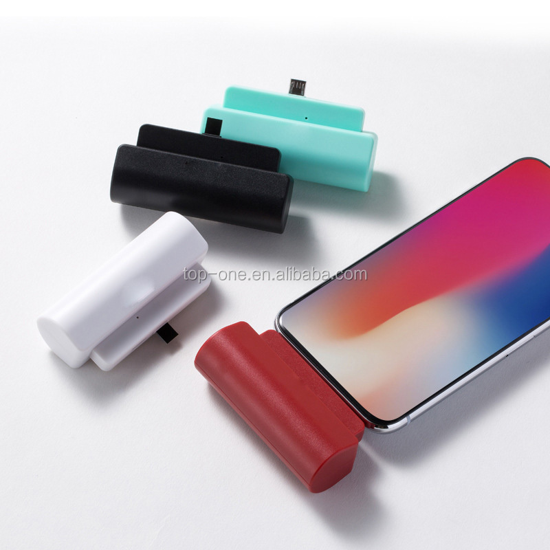 Hot sale mini emergency charger 1200mah non-disposable finger capsule power bank for iPhone