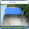 RK Dj circular truss/truss system/used aluminum truss/concert stage roof truss for sale