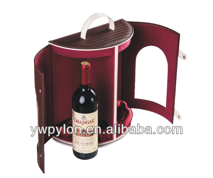 High quality attractive double design wine box made in china