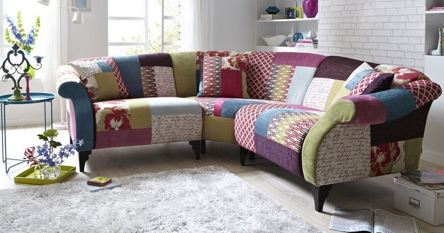 Patchwork Sofa Modern Corner Product On Alibaba