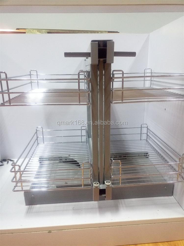 Soft Closing Pull Out Schubladen Küchenschrank Magic Corner / Industrial  Wire Ablagekörbe Organisatoren Schubladen (900.940.900) - Buy Ziehen ...