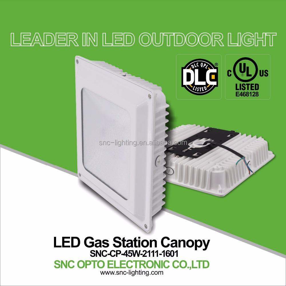 Snc Dlc Ul Cul Certification Led Canopy Light 45w Ip65 Buy Led