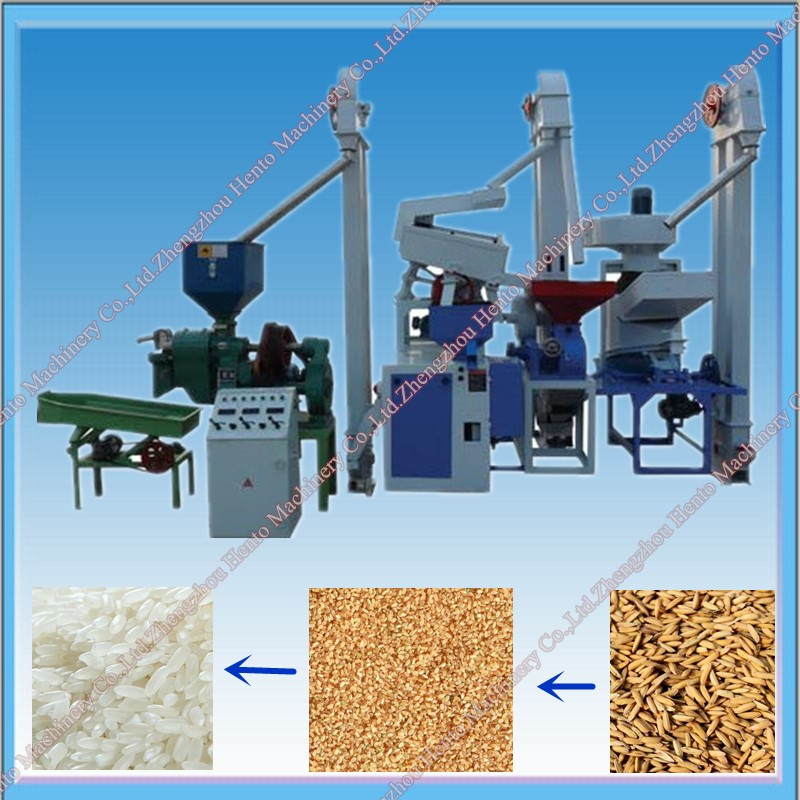 Automatic Working Complete Rice Milling Plant