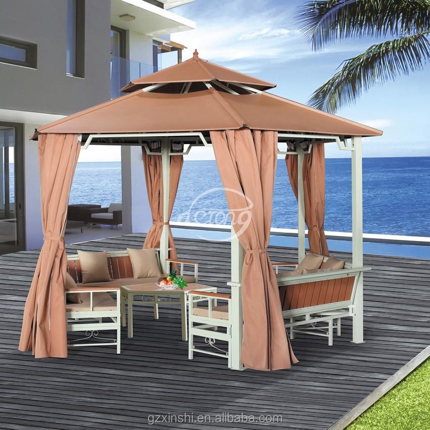 Aluminium frame zeshoekig paviljoen prieel beurs tent product id 60148991786 - Prieel frame van ...
