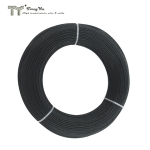 ptfe insulated wire, heat resistant wire for oven, silver or nickel plated copper, 600V