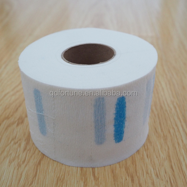 Disposable crepe beauty salon paper barbers neck tape paper