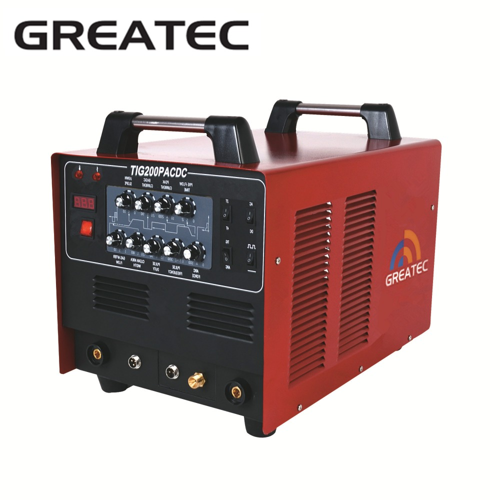 AC DC inverter pulse tig <strong>welding</strong> machine 200A for aluminum <strong>welding</strong>