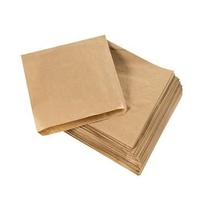Wholesale Cheap Individual Small Food Packaging Customized Brown Kraft Paper Biscuit Cookie Packaging Bags