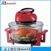 High quality 12 Quart 1400W digital halogen flavor wave turbo oven table toaster oven super chef electric convection oven