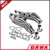 Stainless Steel Tube Header and Exhaust Manifold for Mustange/Fairlane/Cougar V8