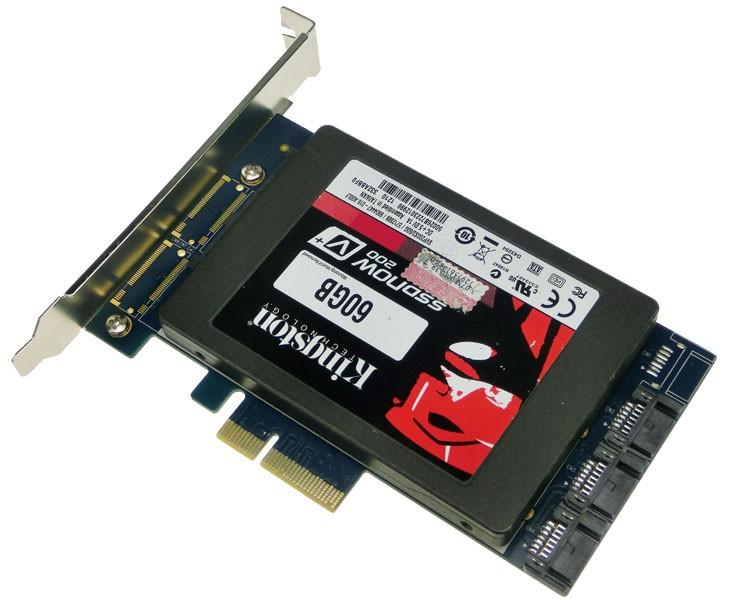 4 Sata Iii Pci-e X4 Controller Card,Hyperduo,Chipset 88se9230 ...