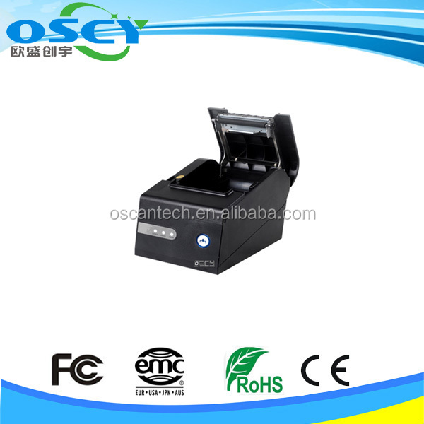 80mm waterproof thermal receipt printer/barcode label fingernail printer