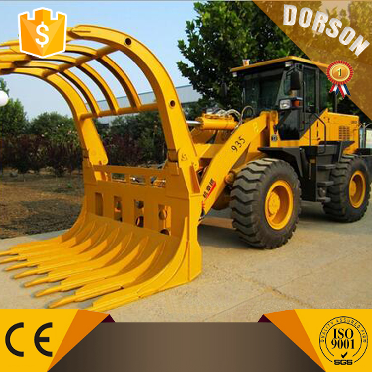 3 Ton DLS935 Log Grapple wheel Loader For Sale
