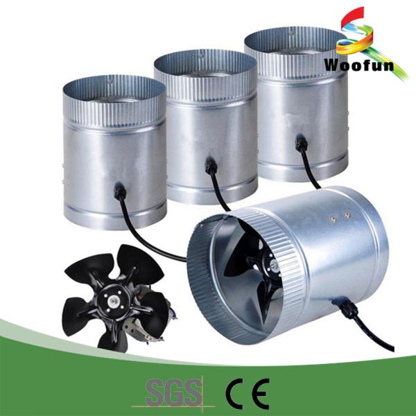 Small Tube Axial Fan : Factory direct high efficiency ventilation tube fan