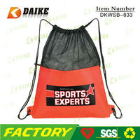 Sport Mesh Drawstring Duffle Bag DKWSB-833