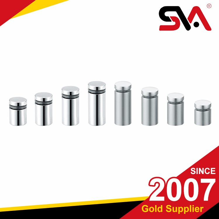 stainless steel advertising bolt/female threaded fasteners nail/stainless steel advertising screw for mounting hardware