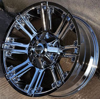 4X4 SUV chrome car wheels