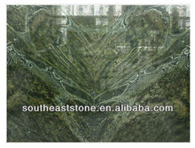 Belleza piedra closer hearts verde marmol