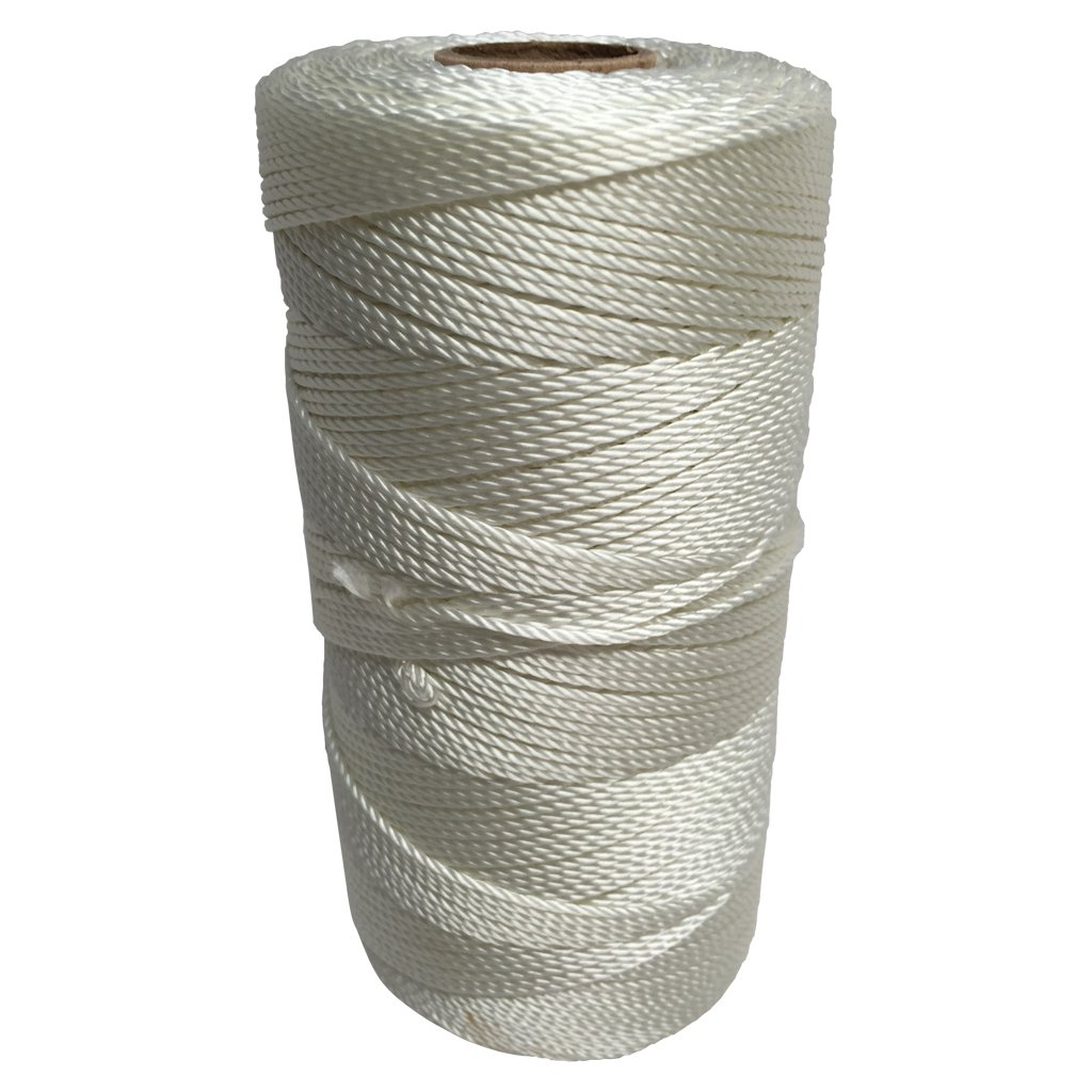 SGT KNOTS Twisted Nylon Seine Twine - #6, #7, #9, #12, #15, #18, #21, #24, #30, #36, #42, #48, #60, #72, #96, #120 (1 Pound - #18 - 1,167 feet)