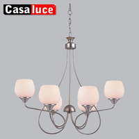 Mini size chrome E14 dining room lamp chandelier with CE/ROHS certificates