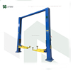 outdoor 5T two post clear floor hydraulic table car lift with CE certification