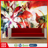 CS-037 Interior artistic quality Modern Flower Wallpaper Custom wallpaper printing Wall Mural
