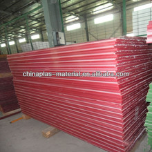 thermocol pp corrugated plastic sheet