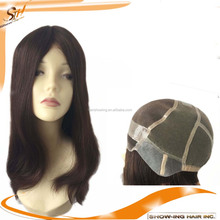 Wholesale Top Quality Mongolian virgin hair Mono Wig Medical Wigs Alopecia Wig