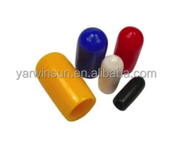 colorful silicone rubber end caps