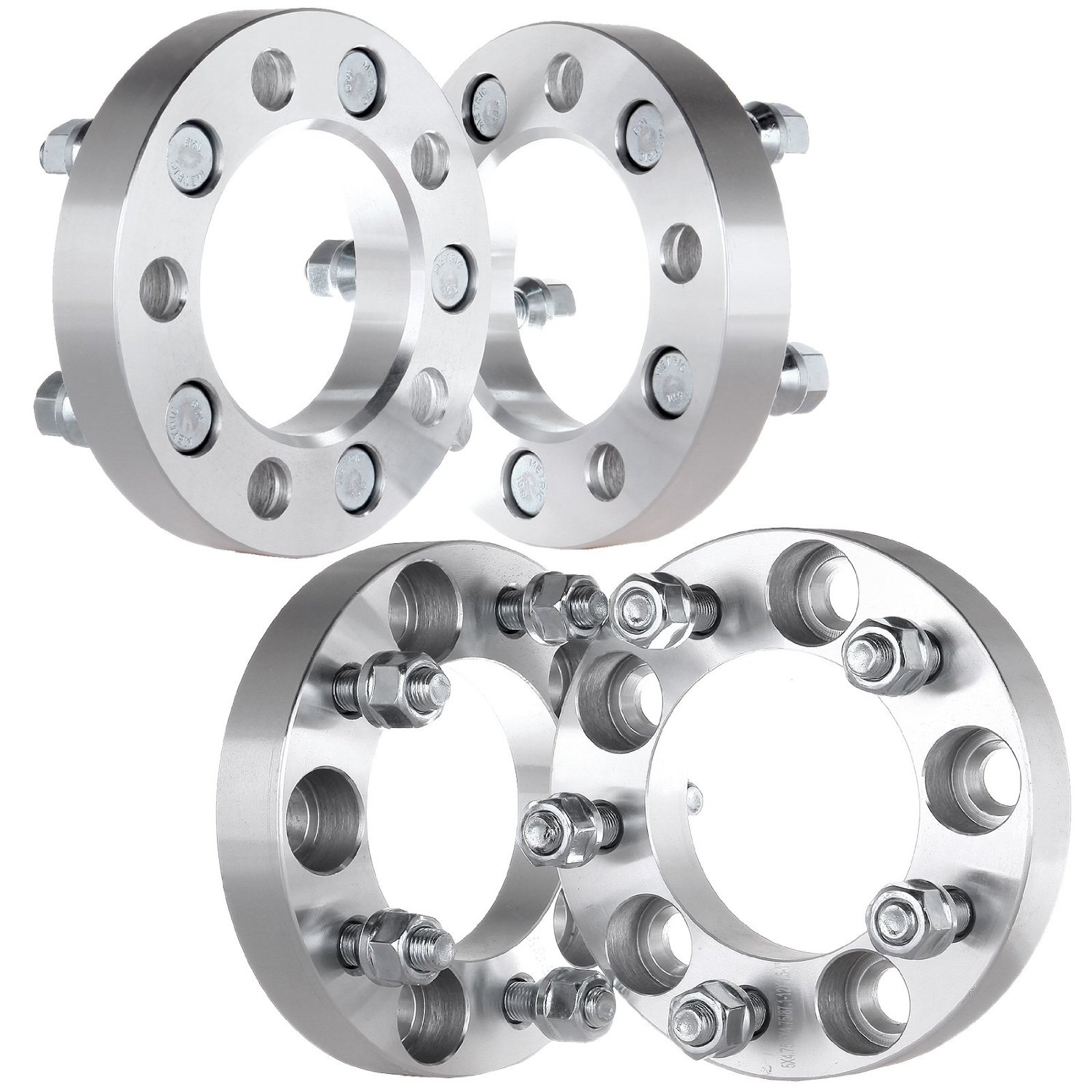 """Buy Scitoo 4PCS 1.5"""" 5x4.5 Wheel Spacers Adapters 5 Lug"""