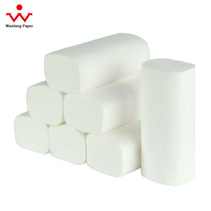 Eco-friendly soft core coreless 100% original virgin pulp toilet paper 10 rolls/pack toilet tissue bath tissue