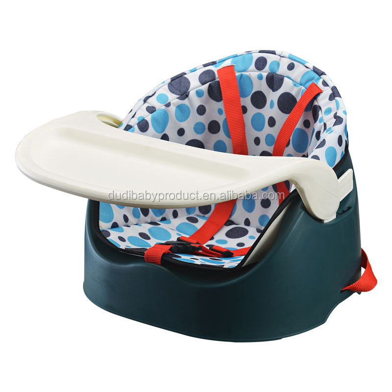 Multifunctional baby booster seat folding high chairs children baby feeding seat dining chair