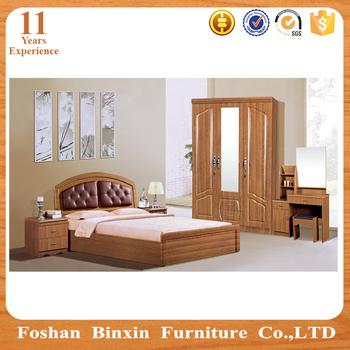 Antique 6 pi ces blanc lit mobilier de chambre ensemble for Ensemble mobilier chambre