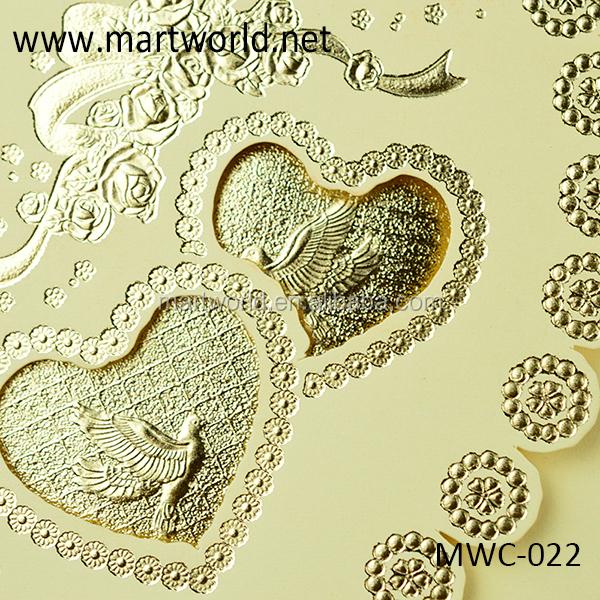 2019 En Gros A La Main 3d Royal Carte D Invitation Pour L Engagement Et Le Mariage Oem Conception De Carte De Voeux Mwc 022 Buy Carte