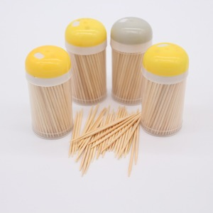 Disposable bamboo toothpicks diameter 2.0mm for table decoration&accessories