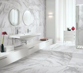 600x1200 Homogeneous White Floor Granite Tile Thickness
