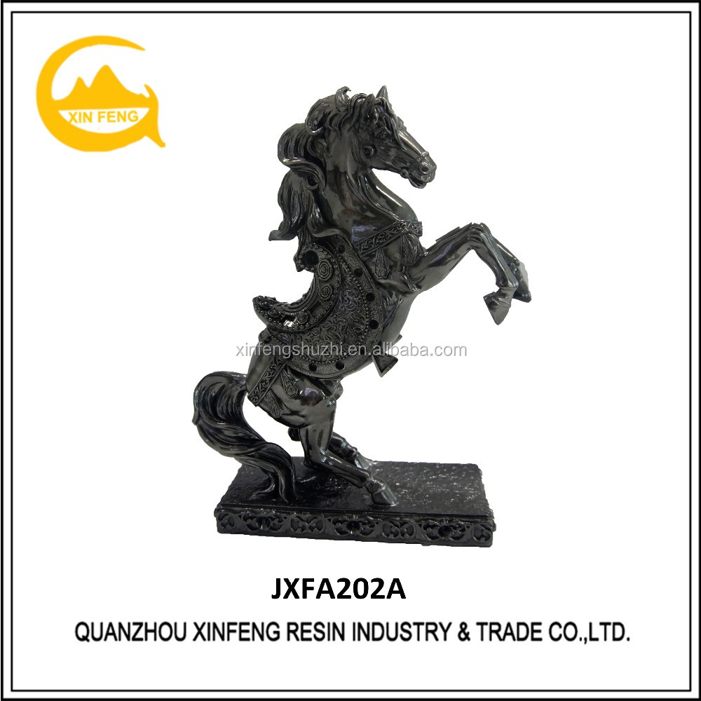 New Painting Craft Custom Resin Horse Sculpture