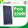 China best price poly 310w solar panel 10kw used bluesun solar panels for home