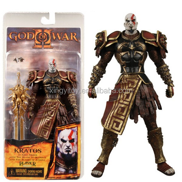 "Neca God of War II 2 Kratos in Ares Armor W/Blades Figure7"" Toy Action figure"