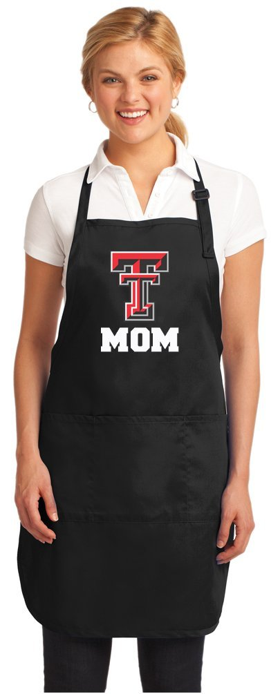 Official Texas Tech Mom Aprons Deluxe Texas Tech Mom Apron w/ Pockets