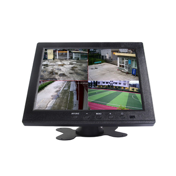 "Split Screen Mini CCTV Tester Monitor 8 inch 10"" 12"" 15"" 17"" with AV VGA BNC"
