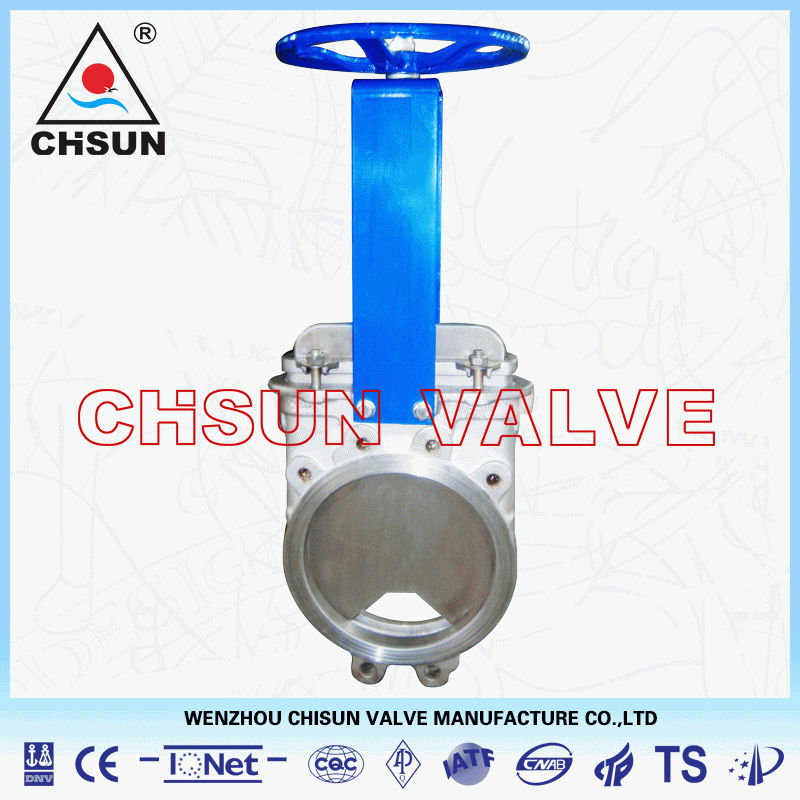 Stainless Steel 304 Valve, Stainless Steel SS304 Knife Gate Valve Made in China