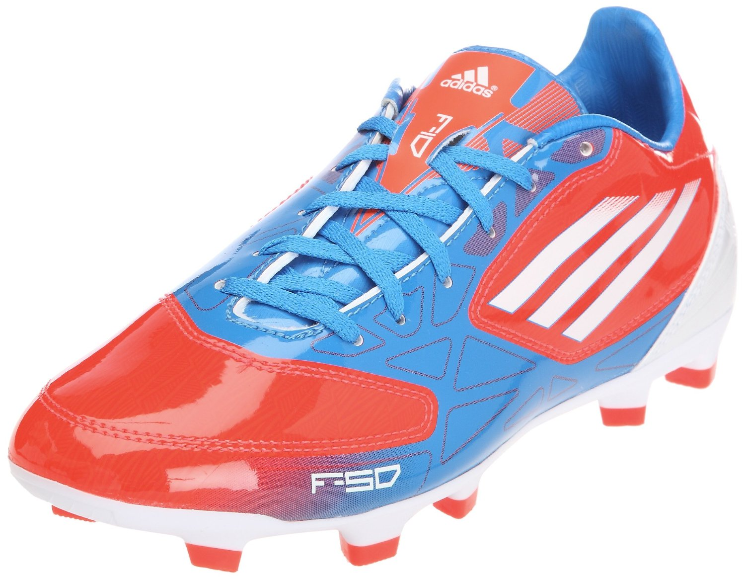Adidas F10 TRX FG Mens Soccer NEW blue red