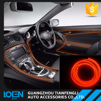 Car decoration lamp led car atmosphere lights auto interior rope car decoration lamp led car atmosphere lights auto interior rope lighting rope lights strip aloadofball Gallery