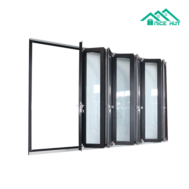 China Aluminum Folding Door With Glass Panel Wholesale 🇨🇳 - Alibaba