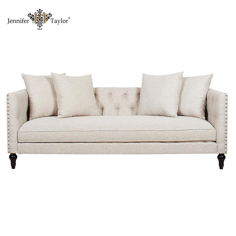 Elegantes design gro britannien wohnzimmer m bel 3 sitzer holz gepolsterten sofas wohnzimmer Sofa aufblasbar
