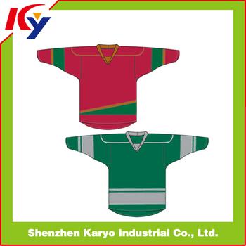 Custom Hot Sale International Cheap Team Ice Hockey Jerseys Ice