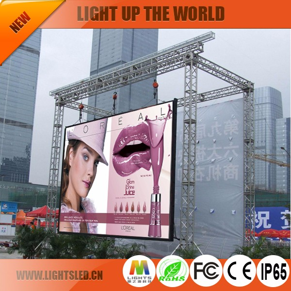 Outdoor Advertising <strong>Screen</strong> Good Price High Used p8 LED Sign Sale Refresh Rate Alibaba China Supplier